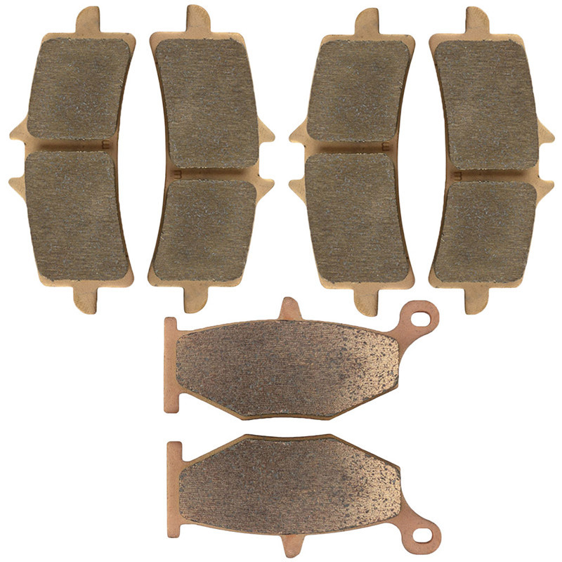 Motorcycle Parts Front & Rear Brake Pads Kit For SUZUKI GSX1300R GSX1300 R Hayabusa Brembo Calipers 13-15 Copper Based Sintered