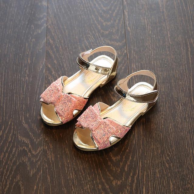 Sandali della ragazza scarpe ragazze del partito del bambino della  principessa bambini bambini scarpe da sposa ec38c06c9db