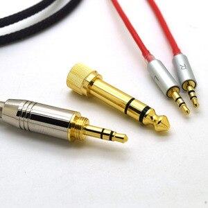 Image 5 - Voor Hifiman HE400S HE 400I HE560 Hij 350 HE1000 V2 Vervanging Kabel Hoofdtelefoon 3.5 Mm Male 6.35 Mm Naar 2X2.5 Mm Mannelijk Audio Hifi Cord