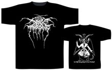 Cool T Shirt Designs Funny Crew Neck Darkthrone Baphomet Short-Sleeve For Men