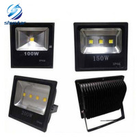 DHL New Arrival Waterproof IP66 Led Floodlight 70W 100W 150W 200W Led Bulb 85 265V LED