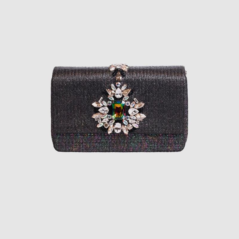LOCAL FOCAL Fashionable nylon delicate handbag local focal fashionable handmade with delicate handbag