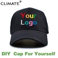 CLIMATE DIY Baseball Caps Sport Adult Kid Children Boy Girl Caps Hat
