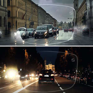 Image 2 - ZEISS Dura Vision 플래티넘 드라이브 안전 야간 운전 렌즈 눈부심 방지 반사 일 야간 운전 안경 1 쌍
