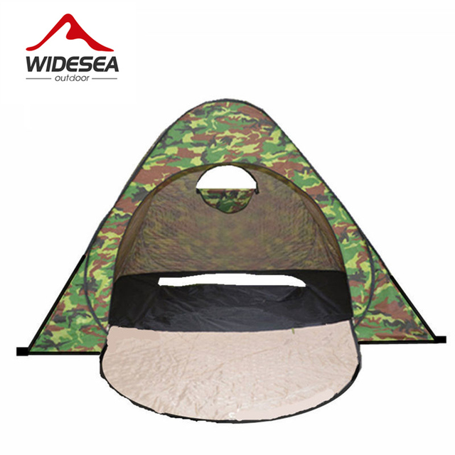 2017 WIDESEA ice fishing tent pop up open 1-2 person thicker Quilted keep warm  sc 1 st  AliExpress.com & Aliexpress.com : Buy 2017 WIDESEA ice fishing tent pop up open 1 2 ...