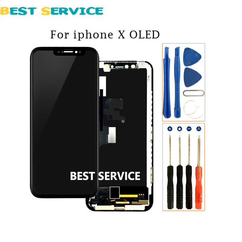 OEM LCD screen For iPhone X lcd Display AMOLED Touch