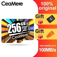 CeaMere מיקרו SD כרטיס Class10 UHS 1 8GB Class6 16 GB/32 GB U1 64 GB/128 GB /256GB U3 זיכרון כרטיס פלאש זיכרון Microsd עבור Smartphone