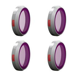4 Pcs Professional Version PGYTECH Filter ND Set ND8 16 32 64 Drone Lens for DJI MAVIC 2 ZOOM