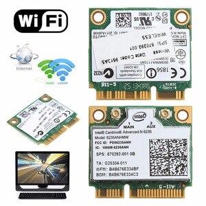Podwójny zespół 2.4G/5G 300 M 802.11a/b/g/n WiFi bezprzewodowa Bluetooth 4.0 połowa Mini Karta PCI-E dla Intel Centrino advanced-n 6235 ANHMW