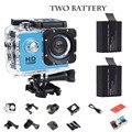720pd Mini Filmadoras SJ4000 Esporte Action Camera com 2 bateria Câmera Esporte DV câmeras de Vídeo Câmera DV Gravador de Carro de Viagem
