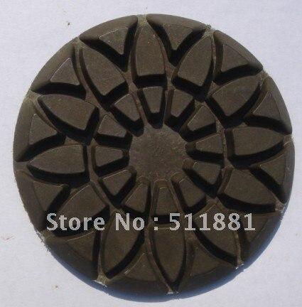 3 ''сухой и влажной Лотос Форма полировальником для бетона | установить в NCCTEC L357, m3, L4480, L4580, L4680 полотером