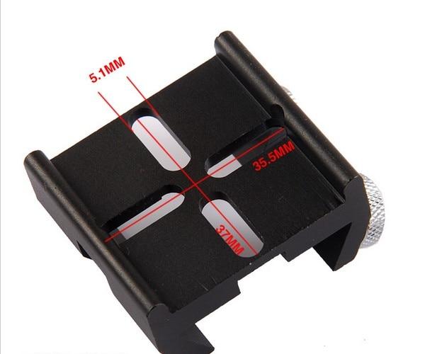 typ Dovetail, multifunkční Dovetail pro C8, C8HD, C925, C11HD, - Měřicí přístroje - Fotografie 2