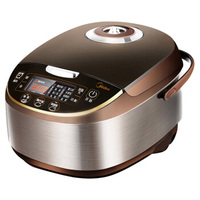 5L 24h Reservation Rice Cooker Pneumatic Turbine Anti overflow Pot Non stick Multicooker For 4 5 People Cylinder 770W