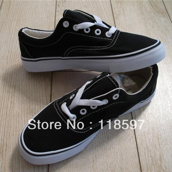Lovers shoes classic black lacing era grey canvas shoes, fashion and hotsale canvans shoes, lowest price for drop sale