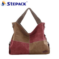 2015 New Women Bag Canvas Women Messenger Bag Plaid Style High Quality For Summer And Autumn