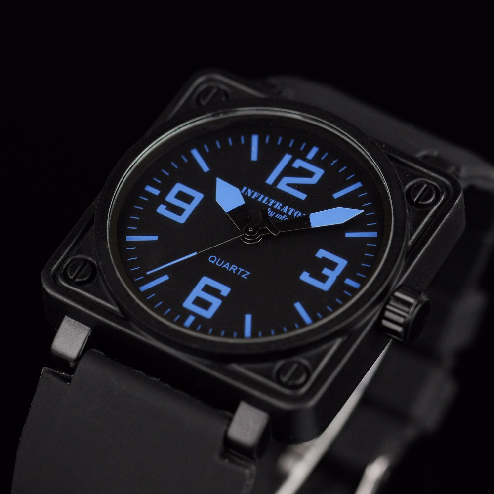 watch dress quartz yazole aviator black watches choice main blue colour mens
