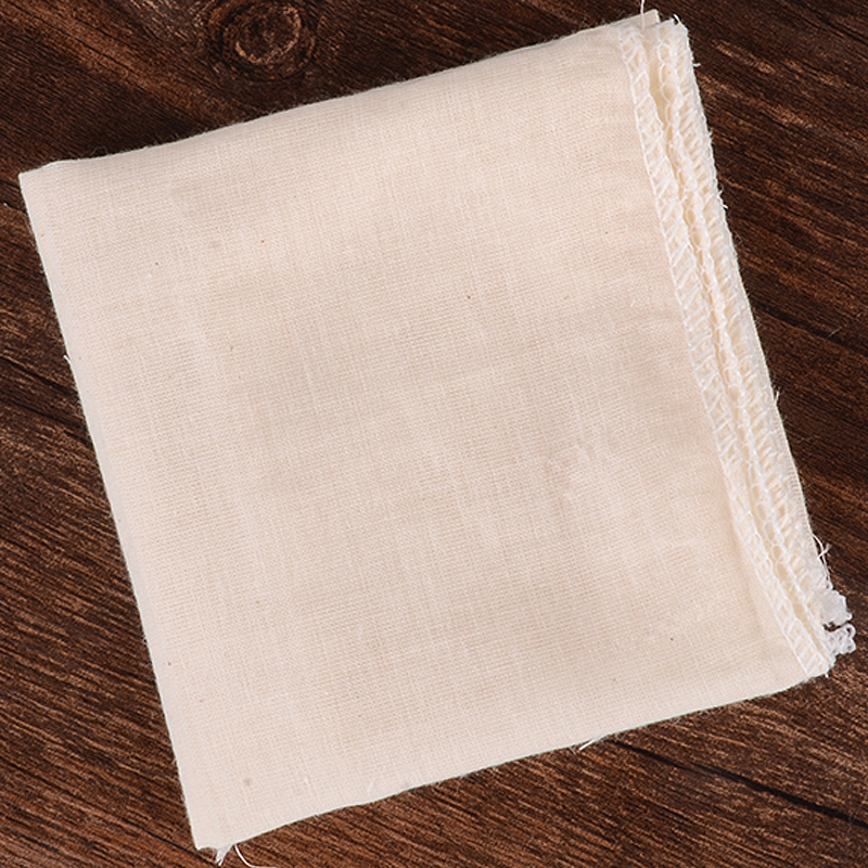Mayitr Tofu Cloth Tofu Maker Garza Cotton Cheese Cloth for Kitchen Stampo per stampi fai da te Strumento da cucina 40 x 40cm
