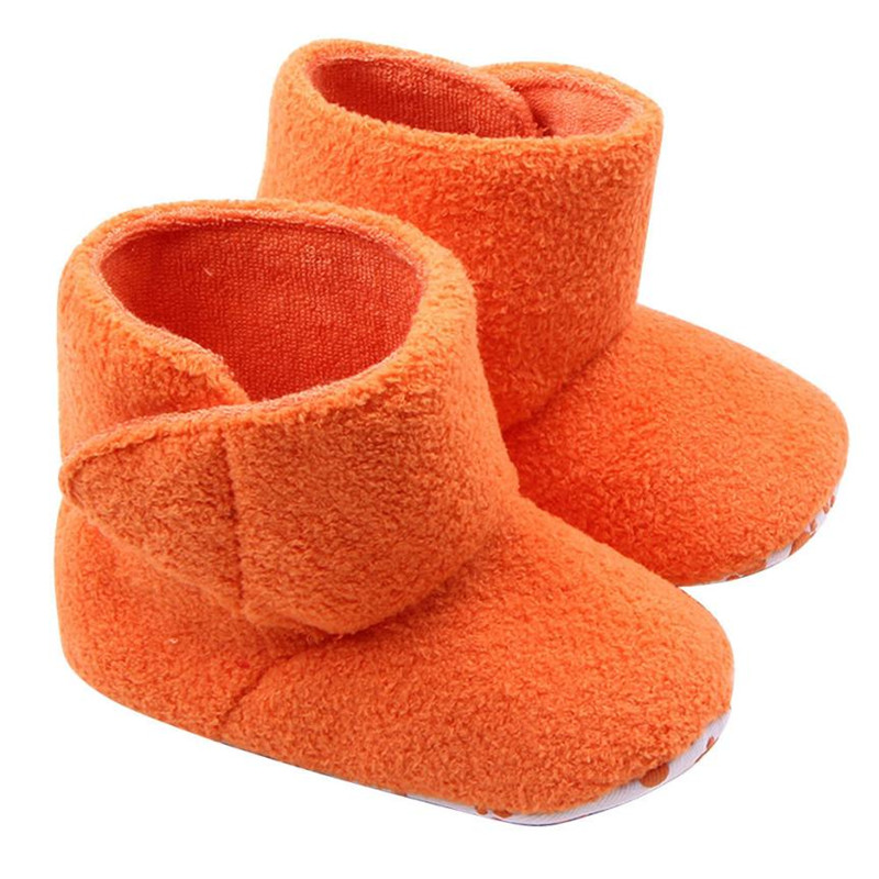 Professional Design and High Quality Material Coral Fleece Soft Sole Warm Shoes Boots for baby botas masculinas #