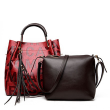Fashion 2017 Purses and Handbags Letters Bag PU Leather Handbag Female Shoulder Bags Crossbody Bags for Women