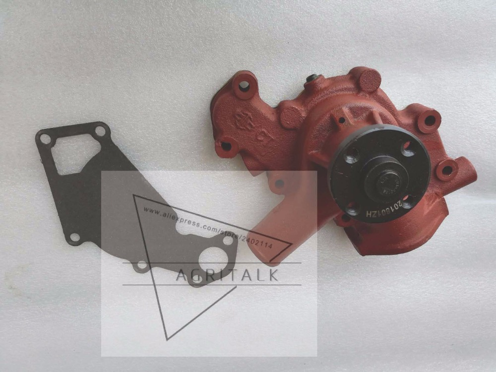 Changchai engine ZN390T for tractor like DF tractor, the water pump, part number:ZN390T-02108 jiangdong ty395e jd495 engine for tractor like jinma the water pump for by pass hoses and extra vent for warm