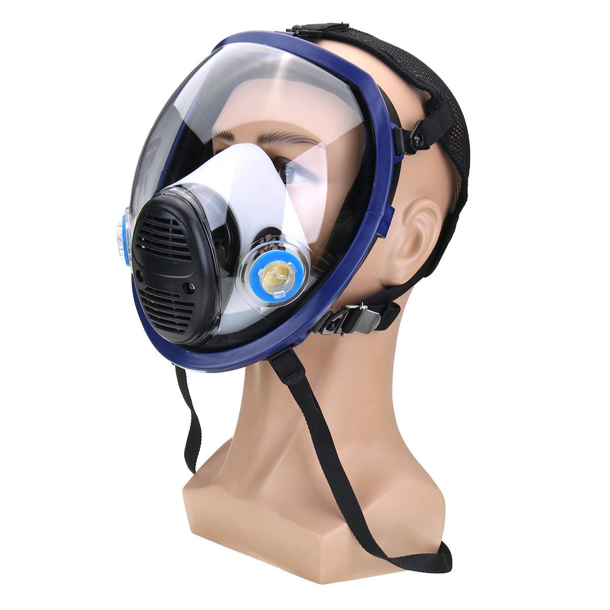Анти туман электрическая маска + 2 шт фильтр бумага pm2.5 формальдегид активированный уголь пыль запах вторичного дыма Воздухопроницаемый - 4