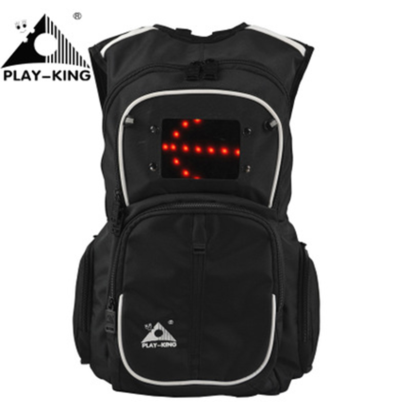 Motorcycle Backpack Waterproof Backpack outdoor cycling bag indicator light backpack for men and women backpack cycling multi function outdoor sports backpack bike bag 22l motorcycle rucksack backpack bag with waterproof rain cover