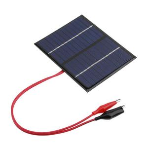 Image 4 - 1.5W 12V Solar Battery Panels Cell Module Polysilicon Flexible DIY Solar Panel Power Bank Battery Charger with Clip