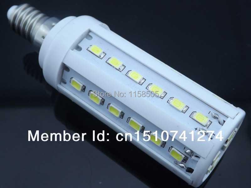 5pcs/lot E14 5630 SMD 42 leds chip 12W 110V or 220V AC cool white warm white LED Corn Light LED Bulb Lamp+Free Shipping