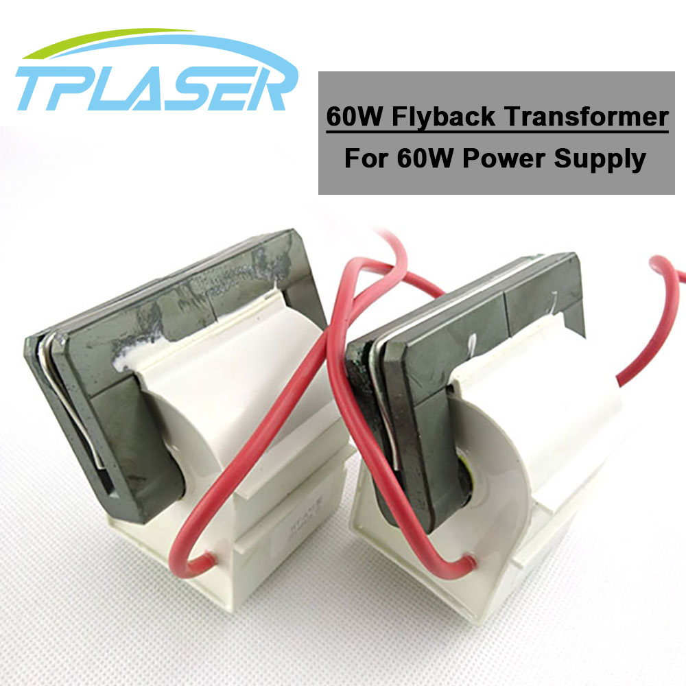 60W Laser Power Supply High Voltage Flyback Transformer for CO2 Laser Engraving and Cutting Machine60W Laser Power Supply High Voltage Flyback Transformer for CO2 Laser Engraving and Cutting Machine