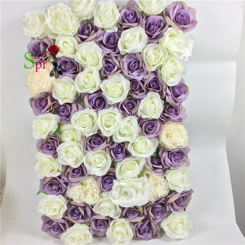 Wholesale Flowers For Weddings Events: SPR FW1812213 Wedding Decoration Event Flower Wall
