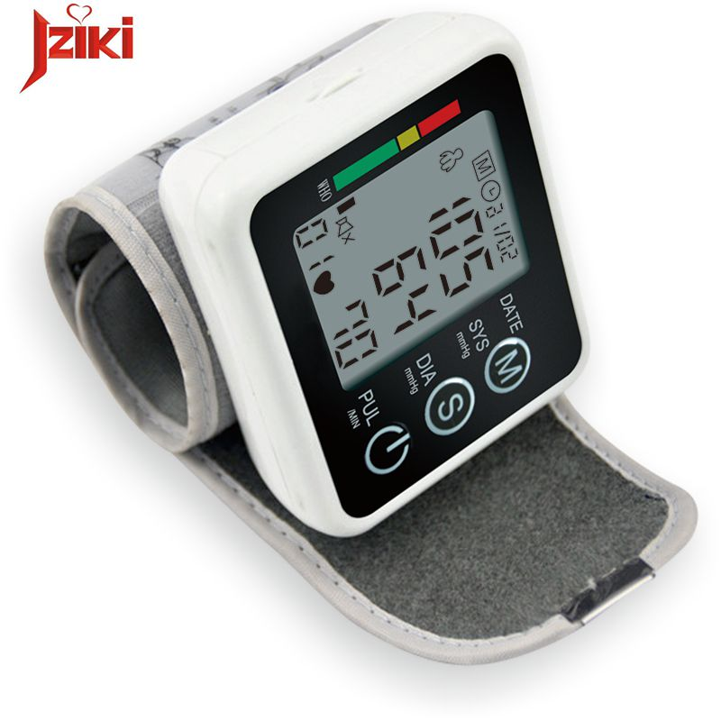 Digital pulse wrist bp Blood Pressure Monitors meters tonometer pulsometro sphygmomanometer cuff automatic health care monitors blood pressure monitor automatic digital manometer tonometer on the wrist cuff arm meter gauge measure portable bracelet device