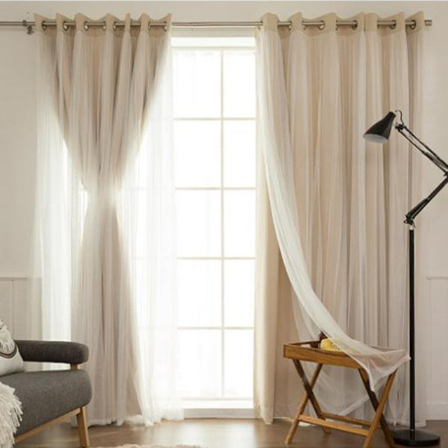 Korean Style blackout Curtains for Bedroom Window Curtains for ...