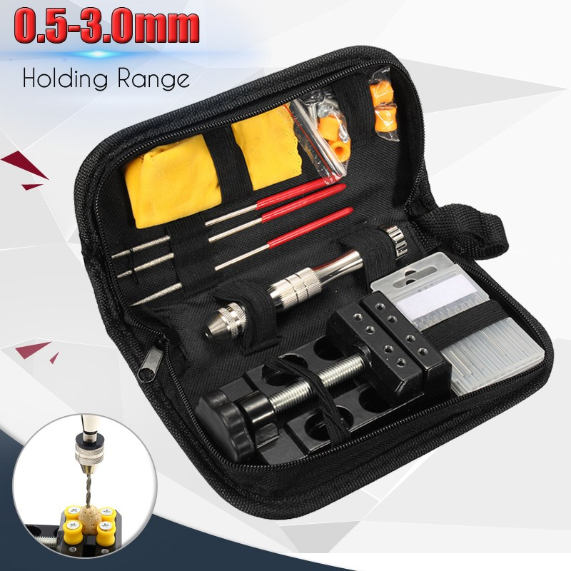 High Quality Aluminum Alloy Hand Twist Drill Clamping Range 0.5mm-3.0mm Tool Drilling Set For Woodworking Tools Hand Drill Bit asus m4a78 vm desktop motherboard 780g socket am2 ddr2 sata2 usb2 0 uatx second hand high quality