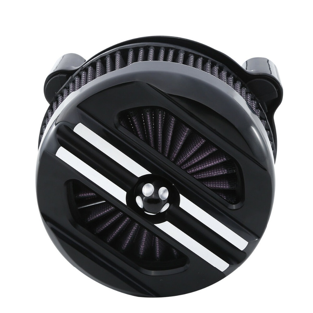 Motorcycle Black Air Cleaner Intake Filter Set For Harley Sportster XL models 1200 Iron 883 2007 2019 18 17 16 15 14 13 12 New in Air Filters Systems from Automobiles Motorcycles