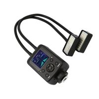 WS 2 36LED 5600k Camera Flashes Speedlite Metal Hose Arbitrary LCD Display Micro Flash Camera Accessories Free Shipping