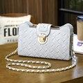 Verano de la pu de las mujeres bolso de la manera de tejer la cadena mujeres messenger bags bolsos de lujo mujeres bolsas de diseñador mujeres del bolso de crossbody bolsa