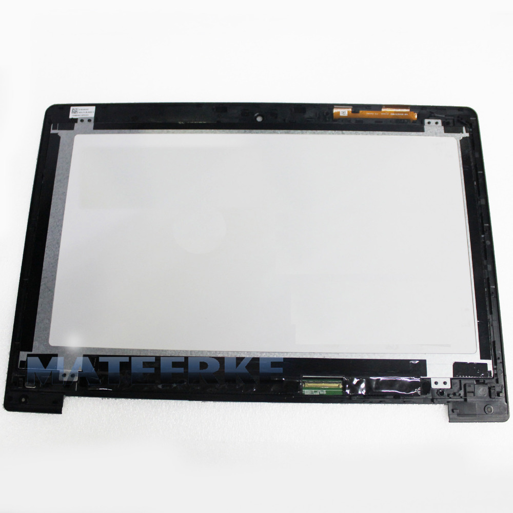 Perfect 14 inch Touch LCD Assembly Screen Digitizer For Asus VivoBook S400 S400C S400CA+Frame все цены