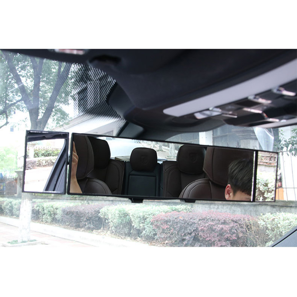 Large Vision Deluxe Anti Glare Proof Car Interior Rear