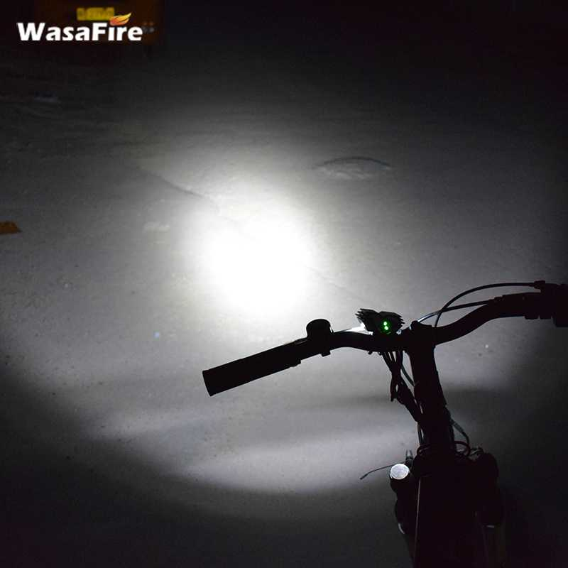 2017 New Arrival Front Bicycle Light XM-L T6 LED 1000 Lumen Waterproof Cycling Bike Headlight White Light Bicycle Accessories