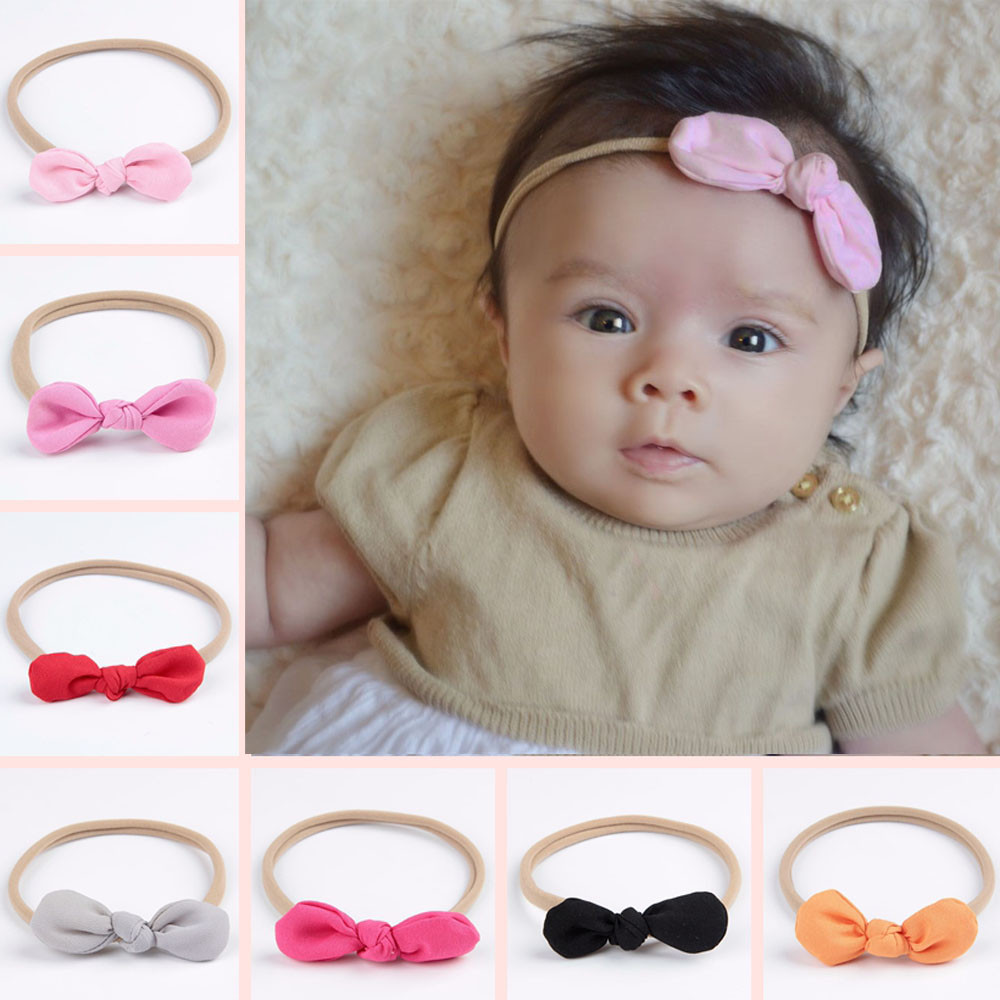 96a31c6b5bf0c Detail Feedback Questions about Kid Girl Bowknot Headband Hair Band ...