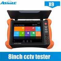 Best Quality 8 Inch Multi Function Cctv Wifi IP Camera Tester With 8MP CVI 8MP TVI