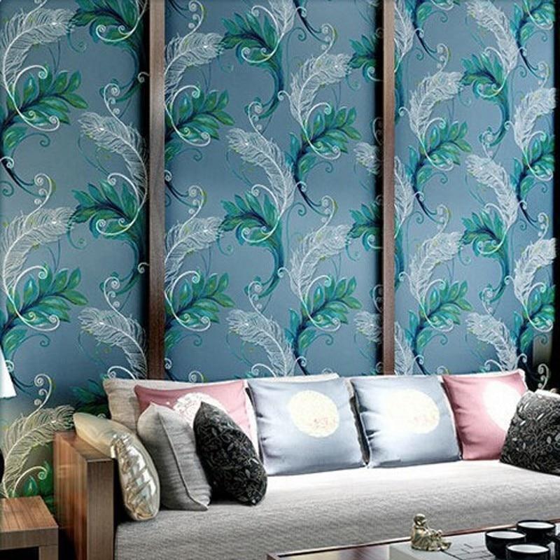 Online kopen wholesale pauwenveer achtergrond uit china pauwenveer achtergrond groothandel - Wallpapers voor kamer ...