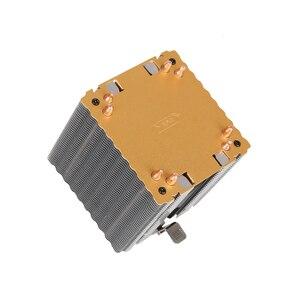 Image 5 - קריר מאוורר למעבד אינטל AMD מעבד 4 חום צינורות קירור 4PIN מעבד רדיאטור 3 מאוורר