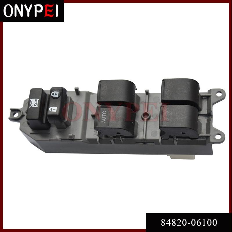 84820-06100 Мощность окно мастер-коммутатор подходит Toyota Camry ACV40 2azfe ACV41 1azfe