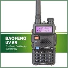BaoFeng UV-5R Long Range Professional Walkie Talkie Transceiver baofeng uv5r 5W VHF UHF Dual Band Ham Interphone Intercom