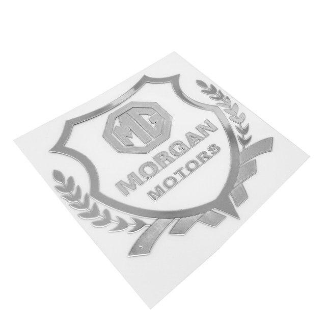 Online Shop Auto Styling Car Plastic Stickers Mg Morgan Emblem Badge
