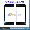 "Top Quality 4.5""For Micromax Bolt A69 Touch Screen Digitizer Front Touch Panel Sensor Black Color"
