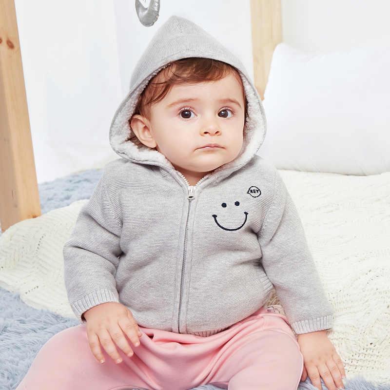 Mini Balabala Baby Kinderkleding Jongens Meisjes Trui Gebreide Kids Lente Herfst Tiny Katoen Winter Outer Wear Trui Streep