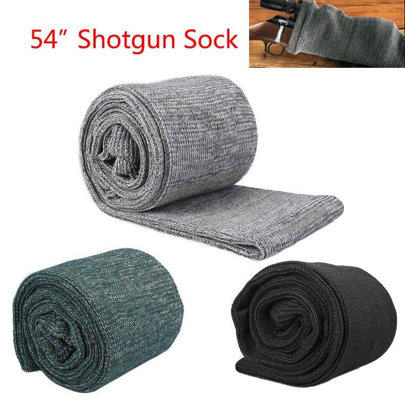 """Shotgun / Rifle Zokni 54 """"Gun Sleeve Slip vadászati táska zsák lövés szilikon kezelt pisztoly zokni tok nagyméretű borító puska tok"""