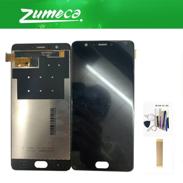 For Blu Life one X3 LCD Display Touch Screen Digitizer Assembly Black Color With Tape Tools